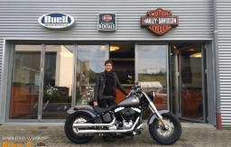 BERTL'S HARLEY-DAVIDSON ® _ BAMBERG - 2015 FLS Softail Slim Charcoal Satin customized2