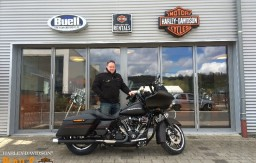 BERTL'S HARLEY-DAVIDSON ® _ BAMBERG - 2015 FLTRXS Road Glide Special Black Denim customized